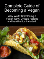 Complete Guide of Becoming a Vegan