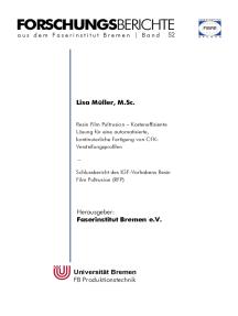 Resin Film Pultrusion: Kosteneffiziente Lösung für eine automatisierte, kontinuierliche Fertigung von CFK-Versteifungsprofilen