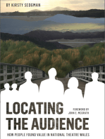 Locating the Audience: How People Found Value in National Theatre Wales