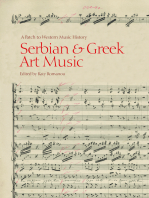 Serbian and Greek Art Music: A Patch to Western Music History