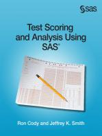 Sas Statistics By Example Pdf Ron Cody