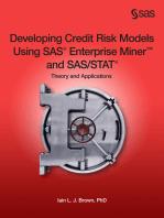 Developing Credit Risk Models Using SAS Enterprise Miner and SAS/STAT