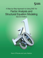 A Step-by-Step Approach to Using SAS for Factor Analysis and Structural Equation Modeling, Second Edition