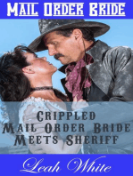 Crippled Mail Order Bride Meets Sheriff (Mail Order Bride)