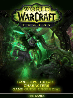 World of Warcraft Legion Game Tips, Cheats Characters Game Guide Unofficial