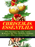 CHRISTMAS ESSENTIALS - The Greatest Novels, Tales & Poems for The Holiday Season