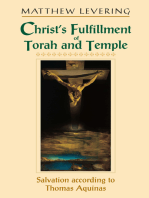 Christ's Fulfillment of Torah and Temple