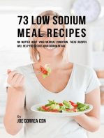 73 Low Sodium Meal Recipes