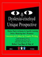 Dyslexia-cixelsyd Unique Prospective