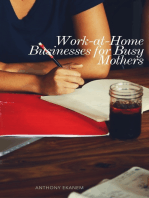 Work-at-Home Businesses for Busy Mothers