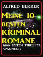 Meine 10 besten Kriminalromane