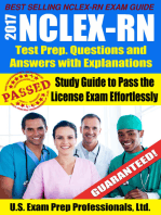 2017 NCLEX-RN Test Prep Questions and Answers with Explanations