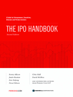 The IPO Handbook: A Guide for Entrepreneurs, Executives, Directors and Private Investors