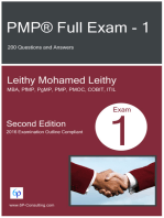 PMP® Full Exam: 1: 200 Questions and Answers