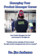 Managing Your Product Manager Career