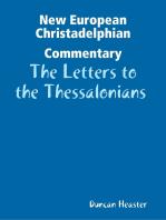 New European Christadelphian Commentary