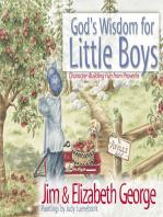 God's Wisdom for Little Boys