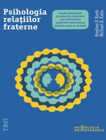 Psihologia relațiilor fraterne. Prima descriere și analiză complete ale puternicei legături emoționale dintre frați și surori