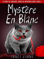Mystère En Blanc (Le Chat de Lakeside, Série de Mystères Cosy Livre 2)