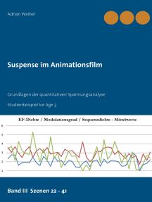 Suspense im Animationsfilm Band III Szenen 22 - 41: Grundlagen der quantitativen Spannungsanalyse  Studienbeispiel Ice Age 3