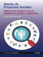 Diseño de Proyectos Sociales: Aplicaciones prácticas para su planificación, gestión y evaluación