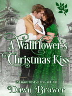 A Wallflower's Christmas Kiss