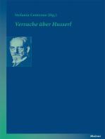 Versuche über Husserl