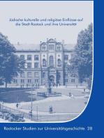 Jüdische kulturelle und religiöse Einflüsse auf die Stadt Rostock und ihre Universität