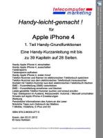 Apple iPhone 4 leicht-gemacht