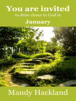 You Are Invited to Draw Closer to God in January