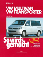 VW Multivan / VW Transporter T5 115-235 PS: Diesel 86-174 PS ab 5/2003, So wird´s gemacht - Band 134
