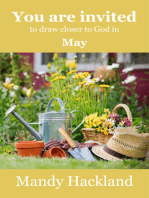 You Are Invited to Draw Closer to God in May