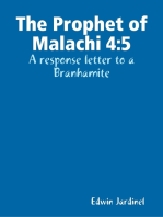The Prophet of Malachi 4