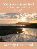 You Are Invited to Draw Closer to God in March