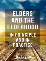 Elders and the Elderhood