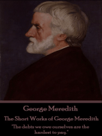 The Short Works of George Meredith