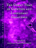 The Great Tome of Cryptids and Legendary Creatures