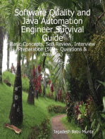 Software Quality and Java Automation Engineer Survival Guide