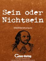 Sein oder Nichtsein - Weltliteraturquiz