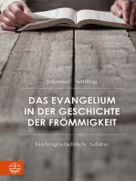 Das Evangelium in der Geschichte der Frömmigkeit