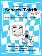 Schachtaktik to go Teil 2