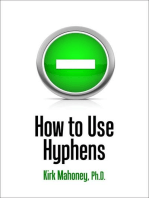 How to Use Hyphens