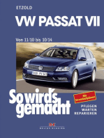 VW Passat 7 von 11/10 bis 10/14: So wird's gemacht Band 157