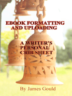 E-Book Formatting and Uploading