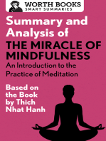 Summary and Analysis of The Miracle of Mindfulness