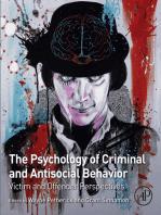 The Psychology of Criminal and Antisocial Behavior