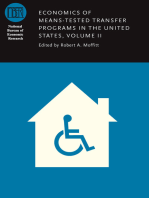 Economics of Means-Tested Transfer Programs in the United States, Volume II
