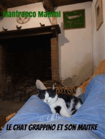Le chat Grappino et son maître