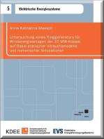 Untersuchung eines Ringgenerators für Windenergieanlagen der 10 MW-Klasse auf Basis statischer Versuchsmodelle und numerischer Simulationen