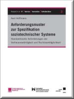Anforderungsmuster zur Spezifikation soziotechnischer Systeme